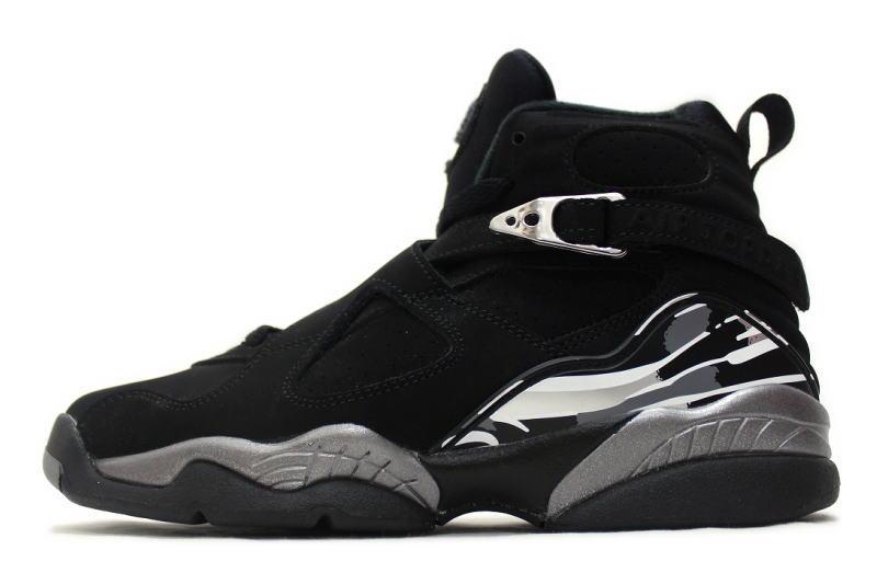 1eb0f632c5fa NIKE AIR JORDAN 8 RETRO CHROME 305368-003 Nike Air Jordan 8 Retro chrome  ladies GS