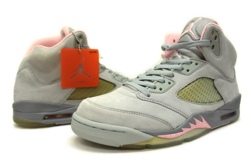 reputable site bd927 332e7 NIKE WMNS AIR JORDAN 5 RETRO SHY PINK 313551-061 Nike Womens Air Jordan  retro 5 shipping