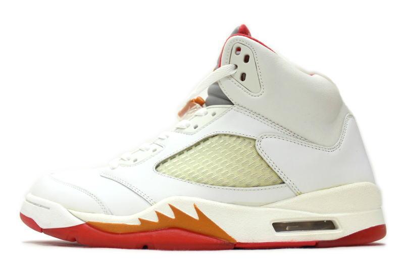 463626c262a242 auc-soleaddict  NIKE WMNS AIR JORDAN 5 RETRO SUNSET 313551-161 Nike Womens  Air Jordan retro 5 sunset