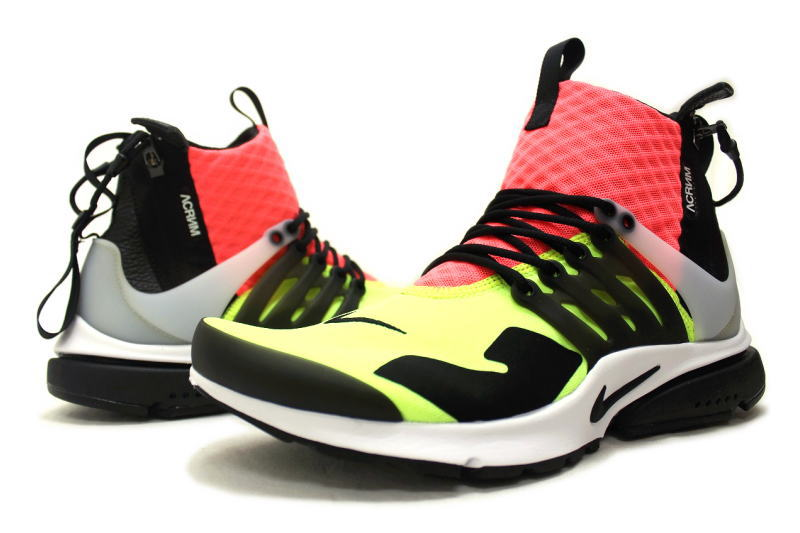 Nike×acronym AIR PRESTO MID HOT LAVA 844672-100 Nike acronium air Presto mid hot lava MULTI multi