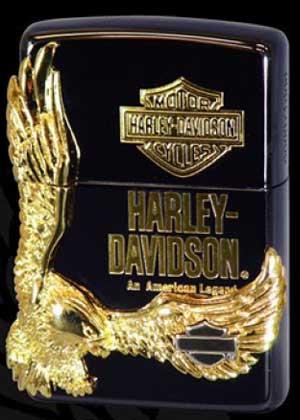 【送料無料】Zippo ハーレーダビッドソン【HARLEY-DAVIDSONイーグルメタル】HDP-14