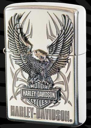 【送料無料】Zippo ハーレーダビッドソン【HARLEY-DAVIDSON ビッグメタル】HDP-07