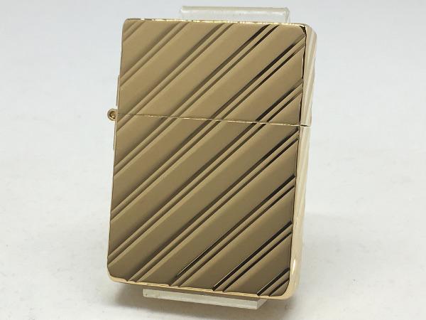 ZIPPO[ジッポー]1935レプリカ 5面加工 1935 Diamond Cut 純金メッキ