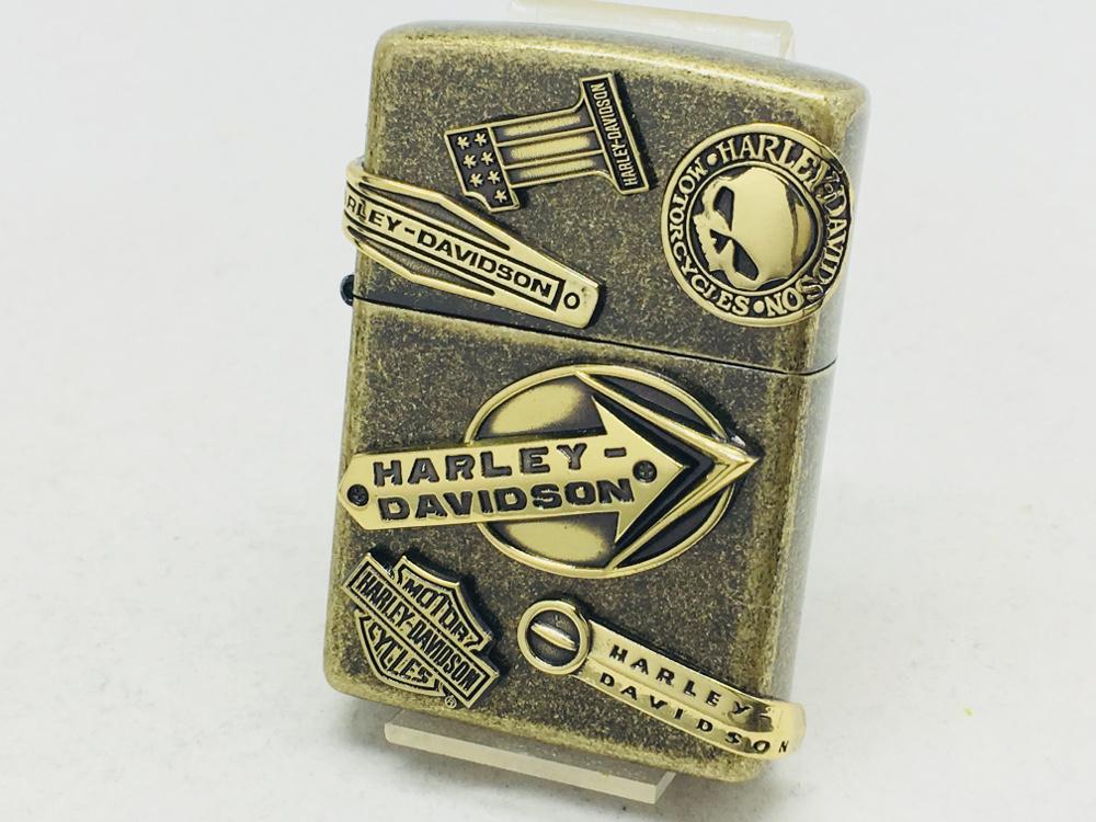 送料無料 ZIPPO ジッポー HARLEY-DAVIDSON メイクメタル 営業 価格 交渉 ハーレーダビッドソン HDP-64