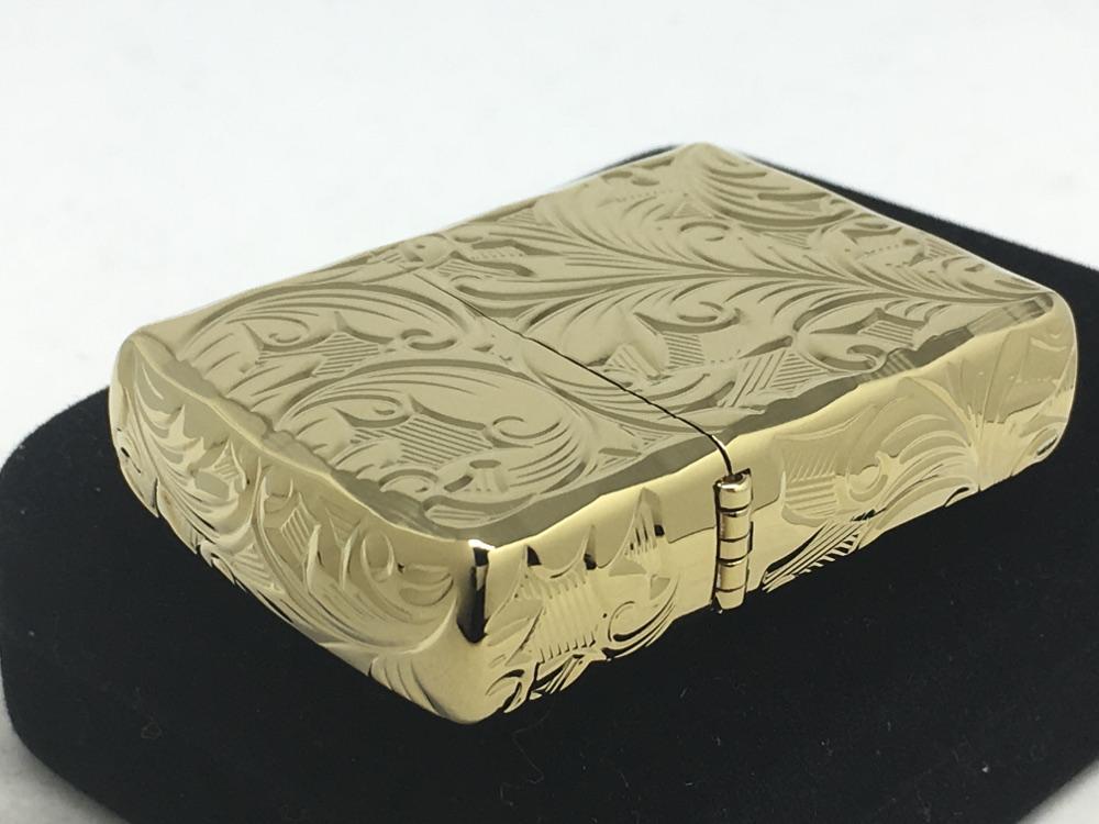 【送料無料】ZIPPO[ジッポー]アーマー 5面立体彫刻 5NC-LEAF(B) リーフ ゴールド ゴールド 5面立体彫刻 5NC-LEAF(B), ホース屋ネットショップ:cf49f719 --- sunward.msk.ru