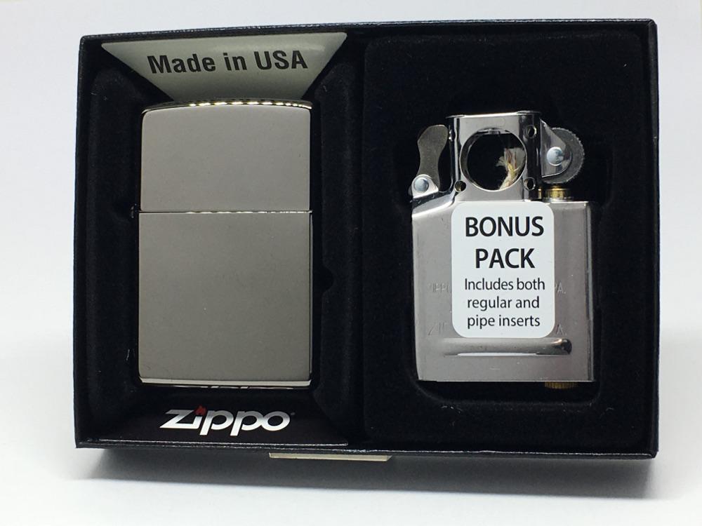 ZIPPO 激安挑戦中 ジッポー ブラックアイス 人気ブランド多数対象 パイプ用インサートセット 29789