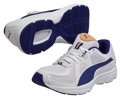 Puma jogging shoe puma 360035 02 white X blue men gap Dis