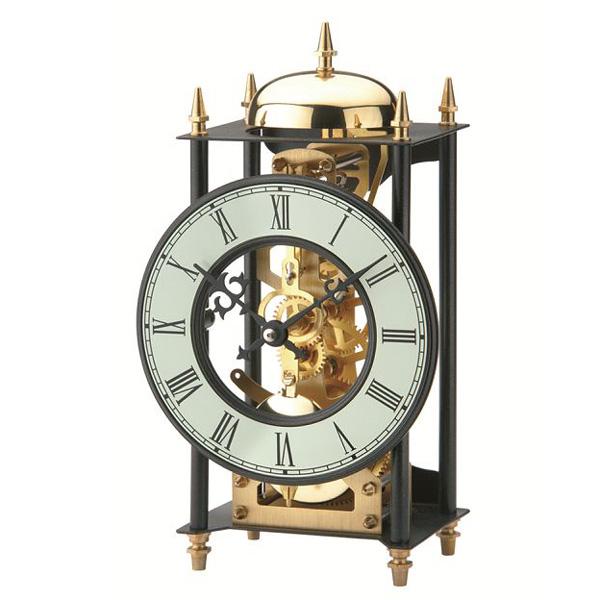 【正規輸入品】ドイツ アームス AMS 1180 機械式 置き時計 (置時計) ベルつき 【記念品 贈答品に名入れ(銘板作成)承ります】【熨斗印刷承ります】