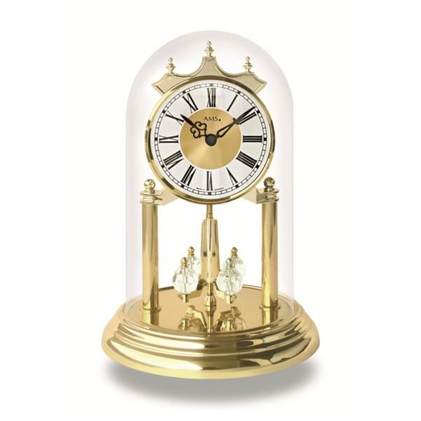 【正規輸入品】ドイツ アームス AMS 1202 クオーツ 置き時計 (置時計) 【記念品 贈答品に名入れ(銘板作成)承ります】【熨斗印刷承ります】