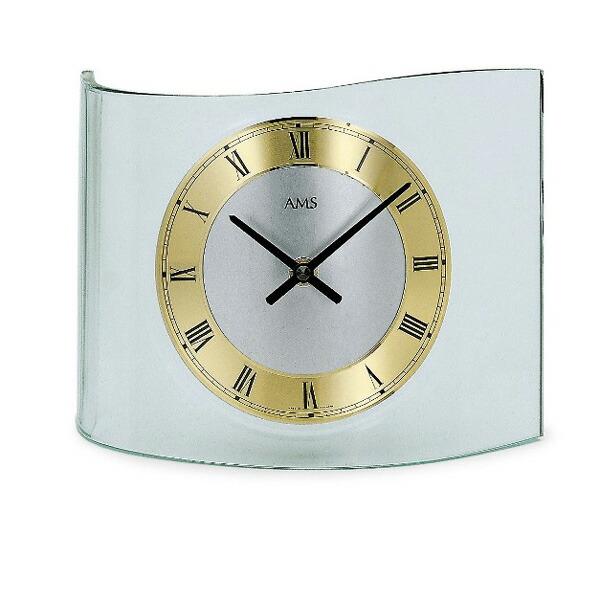 【正規輸入品】ドイツ アームス AMS 130 クオーツ 置き時計 (置時計) ゴールド 【記念品 贈答品に名入れ(銘板作成)承ります】【熨斗印刷承ります】
