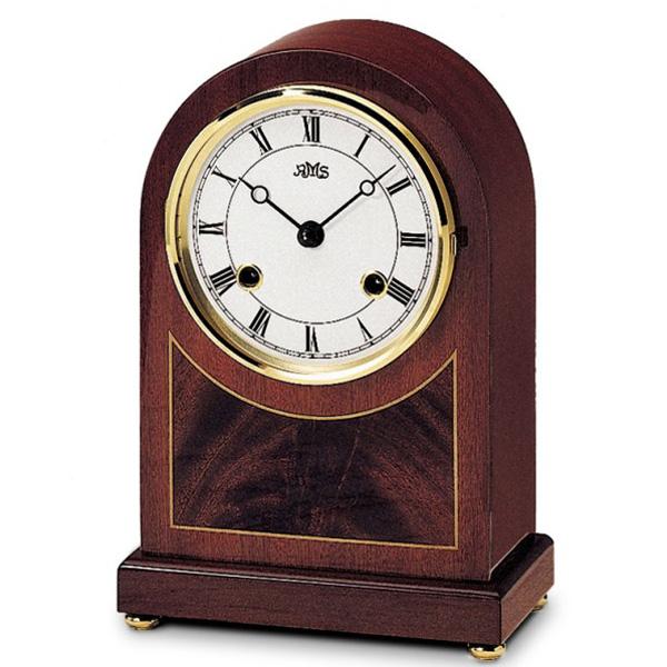 【名入れ無料】 【正規輸入品】ドイツ アームス AMS 154-8 (置時計) 機械式 置き時計 機械式 (置時計) ボンボン時計 AMS【記念品 贈答品に名入れ(銘板作成)承ります】【熨斗印刷承ります】, ウッドデッキと木物屋:7cb0dcf5 --- bibliahebraica.com.br