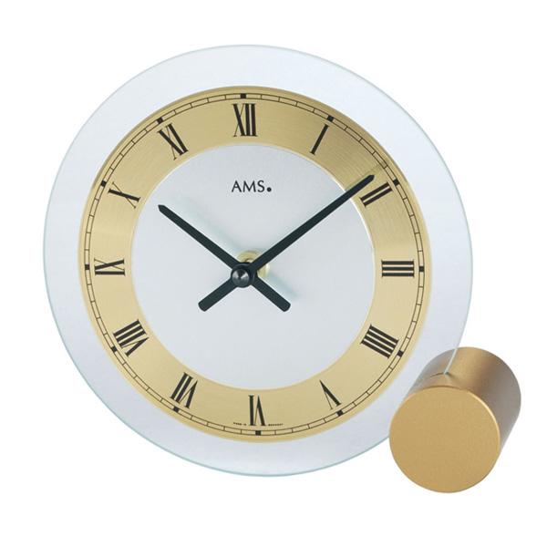 【正規輸入品】ドイツ アームス AMS 168 クオーツ 置き時計 (置時計) ゴールド 【記念品 贈答品に名入れ(銘板作成)承ります】【熨斗印刷承ります】