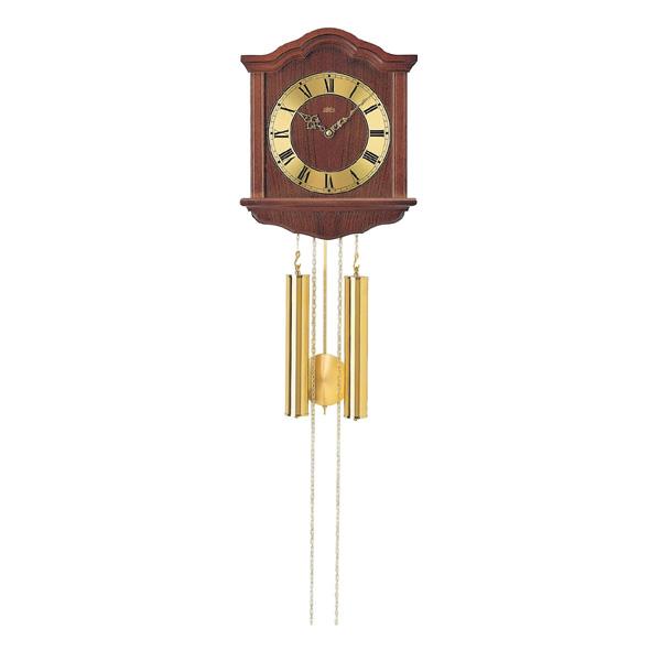 【正規輸入品】ドイツ アームス AMS 206-1 機械式 掛け時計 (掛時計) ボンボン時計 ブラウン 【記念品 贈答品に名入れ(銘板作成)承ります】【熨斗印刷承ります】[送料区分(大)]