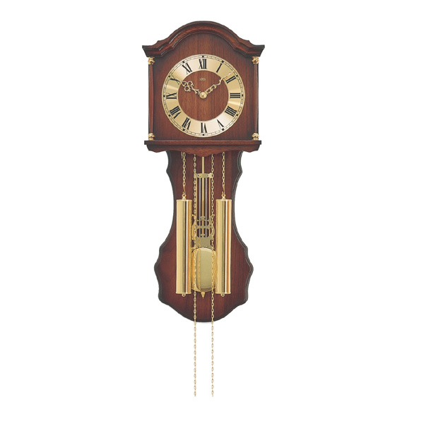 【正規輸入品】ドイツ アームス AMS 211-1 機械式 掛け時計 (掛時計) ボンボン時計 ブラウン 【記念品 贈答品に名入れ(銘板作成)承ります】【熨斗印刷承ります】[送料区分(大)]