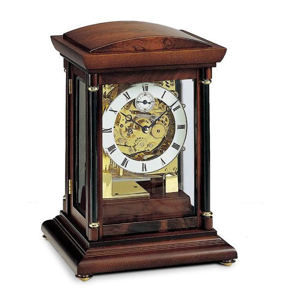 【正規輸入品】ドイツ アームス AMS 2187-1 機械式 置き時計 (置時計) チャイムつき 【記念品 贈答品に名入れ(銘板作成)承ります】【熨斗印刷承ります】[送料区分(大)]