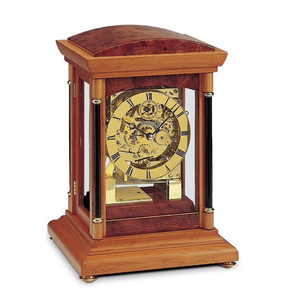 【正規輸入品】ドイツ アームス AMS 2187-9 機械式 置き時計 (置時計) チャイムつき 【記念品 贈答品に名入れ(銘板作成)承ります】【熨斗印刷承ります】[送料区分(大)]