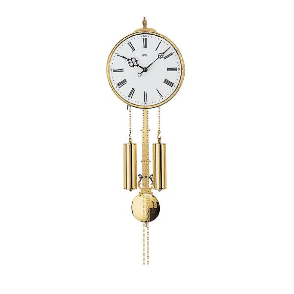 【正規輸入品】ドイツ アームス AMS 348 機械式 掛け時計 (掛時計) ベルつき ホワイト×ゴールド 【記念品 贈答品に名入れ(銘板作成)承ります】【熨斗印刷承ります】[送料区分(大)]