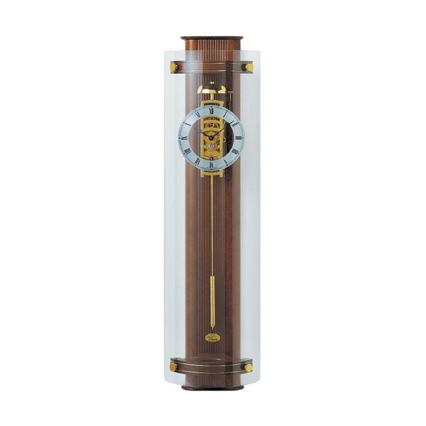 【正規輸入品】ドイツ アームス AMS 633-1 機械式 掛け時計 (掛時計) ベルつき ブラウン 【記念品 贈答品に名入れ(銘板作成)承ります】【熨斗印刷承ります】[送料区分(大)]