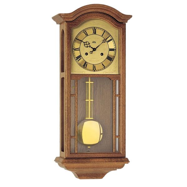 【正規輸入品】ドイツ アームス AMS 650-4 機械式 掛け時計 (掛時計) ボンボン時計 オークブラウン 【記念品 贈答品に名入れ(銘板作成)承ります】【熨斗印刷承ります】[送料区分(大)]