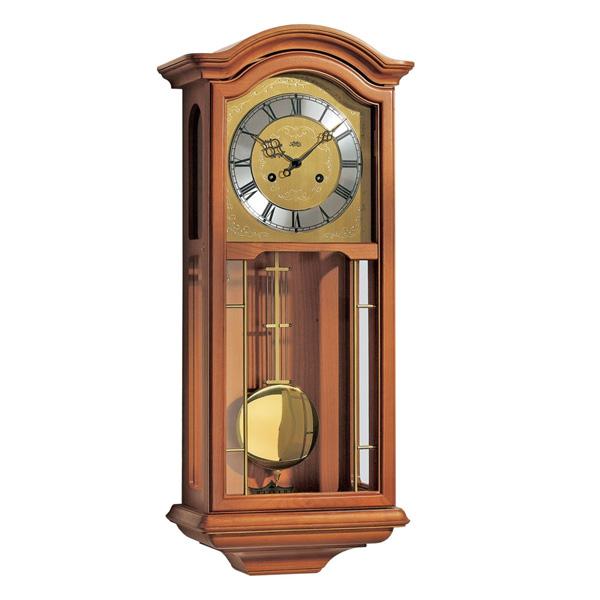 【正規輸入品】ドイツ アームス AMS 651-9 機械式 掛け時計 (掛時計) ボンボン時計 チェリーブラウン 【記念品 贈答品に名入れ(銘板作成)承ります】【熨斗印刷承ります】[送料区分(大)]