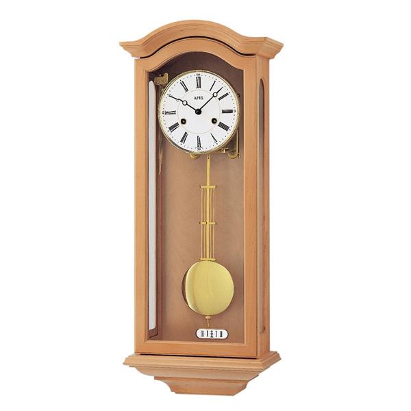 【正規輸入品】ドイツ アームス AMS 696-16 機械式 掛け時計 (掛時計) ベルつき ライトブラウン 【記念品 贈答品に名入れ(銘板作成)承ります】【熨斗印刷承ります】[送料区分(大)]