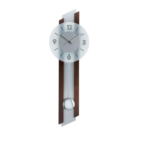 【正規輸入品】ドイツ アームス AMS 7207-1 クオーツ 掛け時計 (掛時計) 振り子つき ダークブラウン 【記念品 贈答品に名入れ(銘板作成)承ります】【熨斗印刷承ります】[送料区分(大)]