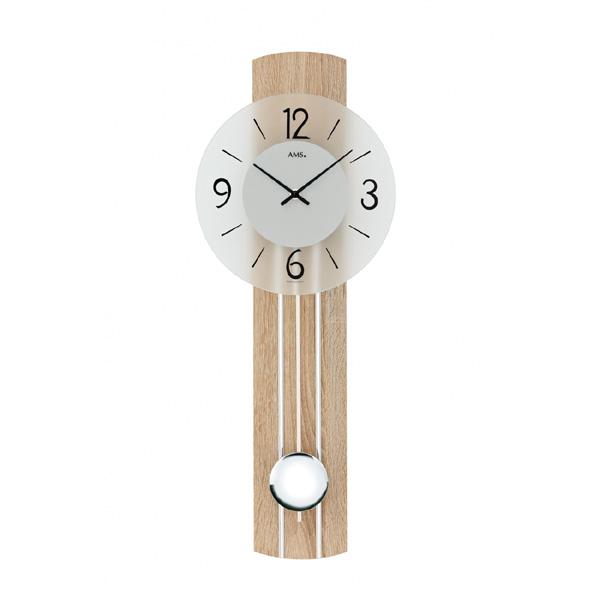 【正規輸入品】ドイツ アームス AMS 7274 クオーツ 掛け時計 (掛時計) 振り子つき ナチュラル 【記念品 贈答品に名入れ(銘板作成)承ります】【熨斗印刷承ります】[送料区分(大)]