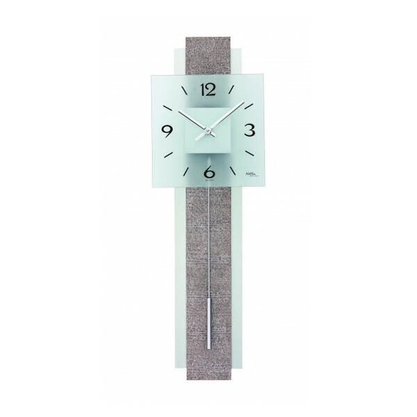 【正規輸入品】ドイツ アームス AMS 7323 クオーツ 掛け時計 (掛時計) 振り子つき ホワイト 【記念品 贈答品に名入れ(銘板作成)承ります】【熨斗印刷承ります】[送料区分(大)]