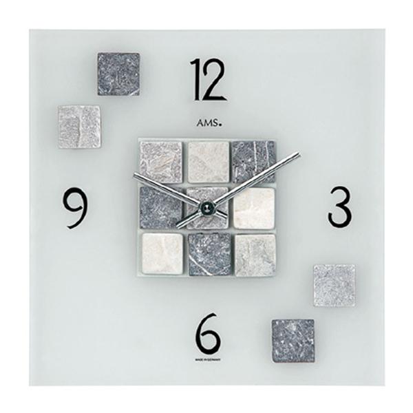 【正規輸入品】ドイツ アームス AMS 9276 クオーツ 掛け時計 (掛時計) タイル 【記念品 贈答品に名入れ(銘板作成)承ります】【熨斗印刷承ります】[送料区分(大)]