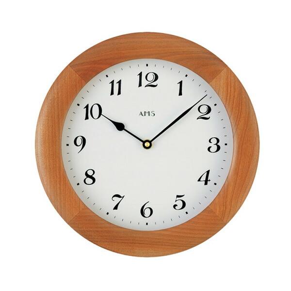 【正規輸入品】ドイツ アームス AMS 929-9 クオーツ 掛け時計 (掛時計) ブラウン 【記念品 贈答品に名入れ(銘板作成)承ります】【熨斗印刷承ります】[送料区分(大)]
