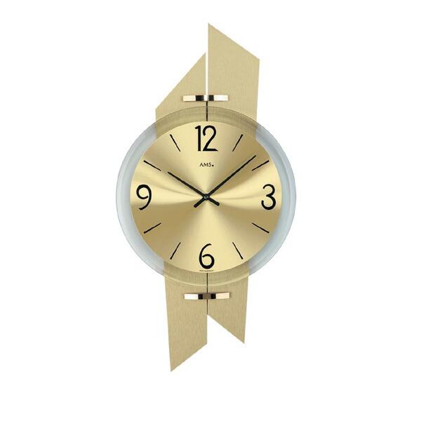 【正規輸入品】ドイツ アームス AMS 9344 クオーツ 掛け時計 (掛時計) ゴールド  【記念品 贈答品に名入れ(銘板作成)承ります】【熨斗印刷承ります】[送料区分(大)]