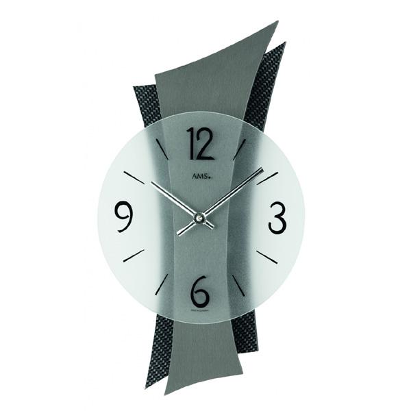 【正規輸入品】ドイツ アームス AMS 9400 クオーツ 掛け時計 (掛時計) ブラック 【記念品 贈答品に名入れ(銘板作成)承ります】【熨斗印刷承ります】[送料区分(大)]