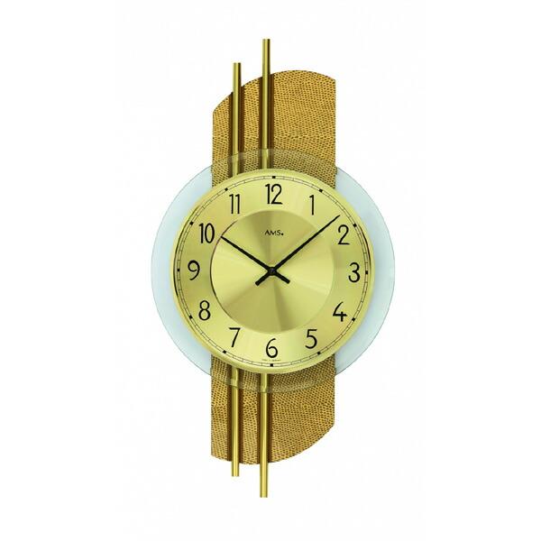 【正規輸入品】ドイツ アームス AMS 9414 クオーツ 掛け時計 (掛時計) ゴールド 【記念品 贈答品に名入れ(銘板作成)承ります】【熨斗印刷承ります】[送料区分(大)]