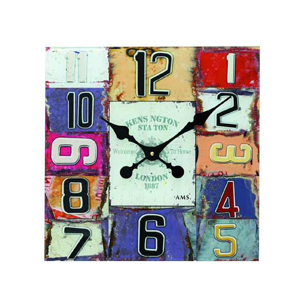 【正規輸入品】ドイツ アームス AMS 9425 クオーツ 掛け時計 (掛時計) KENSINGTON STATION 【記念品 贈答品に名入れ(銘板作成)承ります】【熨斗印刷承ります】[送料区分(大)]