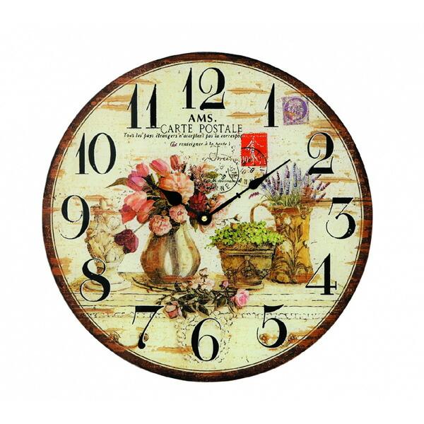 【正規輸入品】ドイツ アームス AMS 9466 クオーツ 掛け時計 (掛時計) CARTE POSTALE 【記念品 贈答品に名入れ(銘板作成)承ります】【熨斗印刷承ります】[送料区分(大)]
