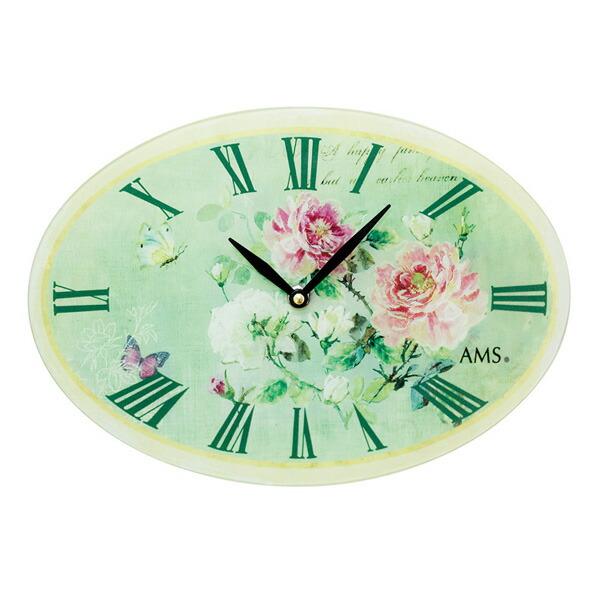 【正規輸入品】ドイツ アームス AMS 9479 クオーツ 掛け時計 (掛時計) ホワイト 【記念品 贈答品に名入れ(銘板作成)承ります】【熨斗印刷承ります】[送料区分(大)]
