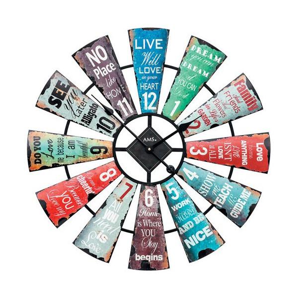 【正規輸入品】ドイツ アームス AMS 9531 クオーツ 掛け時計 (掛時計) 【記念品 贈答品に名入れ(銘板作成)承ります】【熨斗印刷承ります】[送料区分(大)]