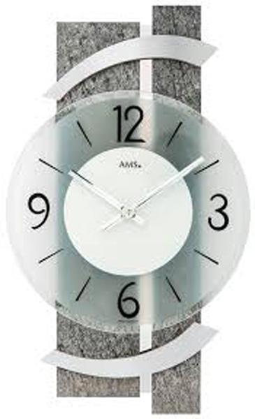 【正規輸入品】ドイツ アームス AMS 9548 クオーツ 掛け時計 (掛時計) ストーン 【記念品 贈答品に名入れ(銘板作成)承ります】【熨斗印刷承ります】[送料区分(大)]