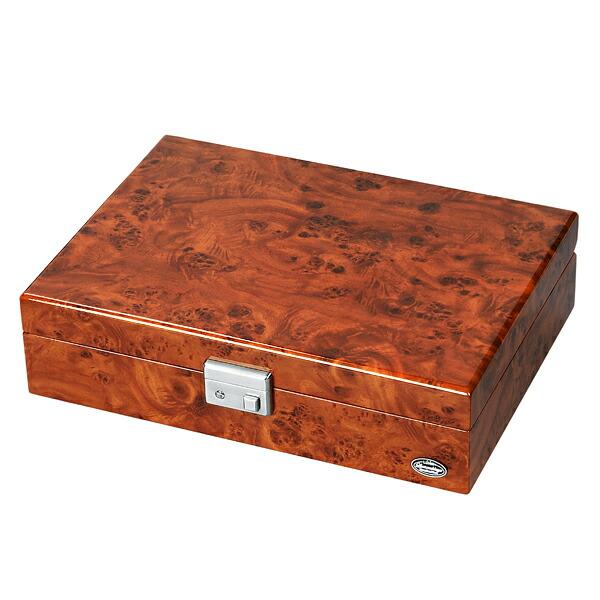 腕時計収納ケース LUHW ローテンシュラガー LU51010RD 木製 8本収納 濃木目