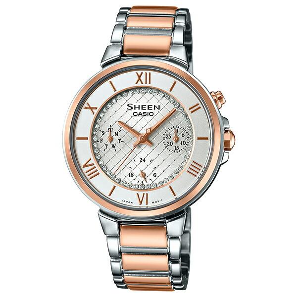 カシオ シーン SHE-3040SGJ-7AJF クオーツ レディース腕時計 【長期保証5年付】