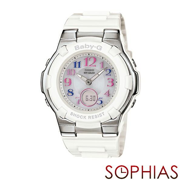 カシオ ベビーG BGA-1100GR-7BJF トリッパー 電波ソーラー 腕時計 ホワイト 【長期保証5年付】