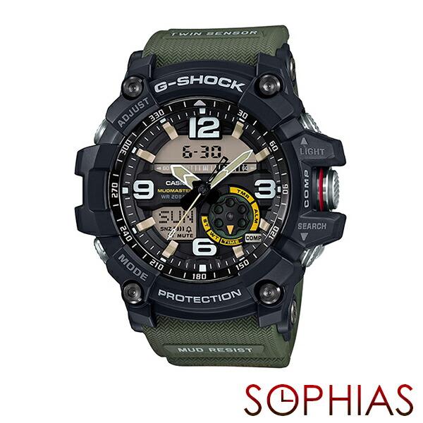 カシオ Gショック GG-1000-1A3JF 腕時計 マッドマスター カーキ 【長期保証10年付】