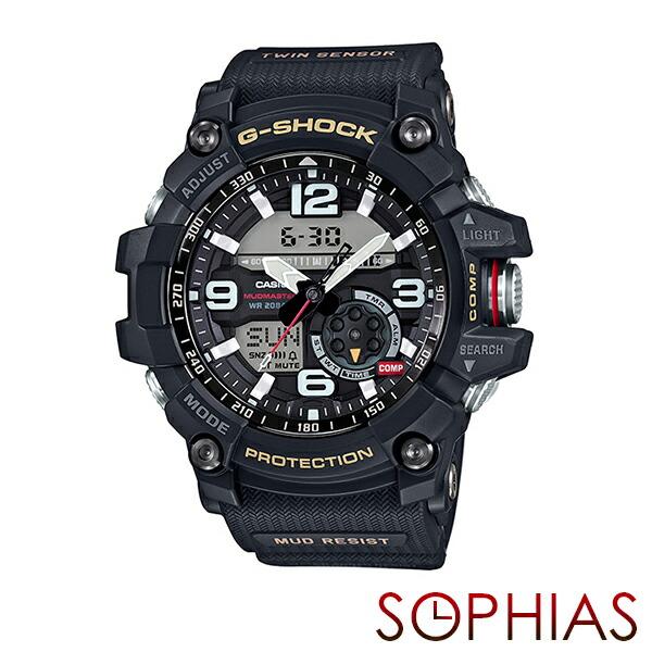 カシオ Gショック GG-1000-1AJF 腕時計 マッドマスター ブラック 【長期保証10年付】