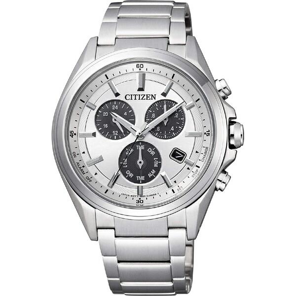 シチズン アテッサ BL5530-57A CITIZEN ATTESA クロノグラフ メタルフェイス エコ・ドライブ クオーツ時計 シルバー メンズ腕時計 【長期保証5年付】