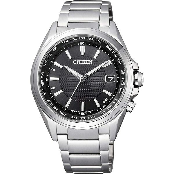 シチズン アテッサ CB1070-56E CITIZEN ATTESA エコ・ドライブ 電波時計 ダイレクトフライト ブラック メンズ腕時計 CB1070-56E【長期保証5年付】