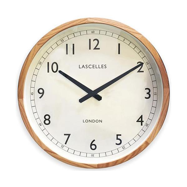 英国最大のクロックメーカー ロジャーラッセル アンティーク調クロック 正規輸入品 イギリス 掛け時計 ROGER LASCELLES Wooden Oak マート OAK LASC 中 トラディショナル オークケース LC Traditional Case 送料区分 Clock 定番から日本未入荷