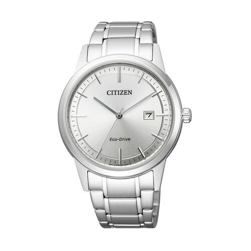 シチズン コレクション AW1231-66A エコ・ドライブ フレシキブルソーラー シルバー メンズ腕時計 【長期保証5年付】