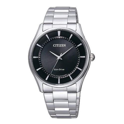 シチズン コレクション BJ6480-51E エコ・ドライブ ブラック×シルバー メンズ腕時計 【長期保証5年付】