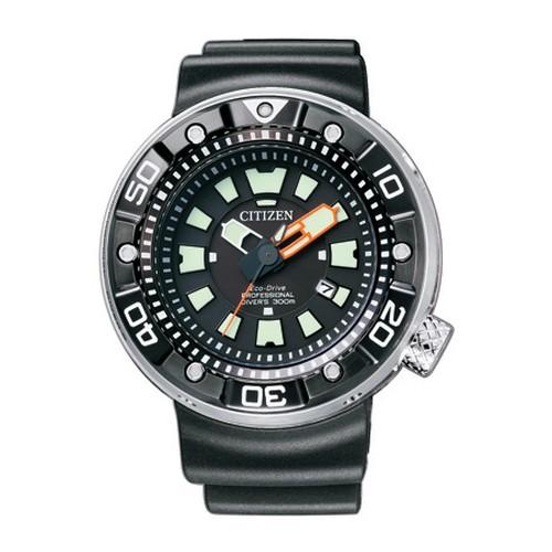 シチズン プロマスター BN0176-08E マリン プロフェッショナル300mダイバー エコ・ドライブ ウレタンバンド メンズ腕時計 【長期保証5年付】