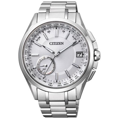 シチズン アテッサ CC3010-51A CITIZEN ATTESA エコ・ドライブGPS衛星電波 F150 ダイレクトフライト シルバー メンズ腕時計 【長期保証5年付】